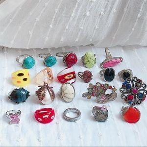Assorted ring Bundle